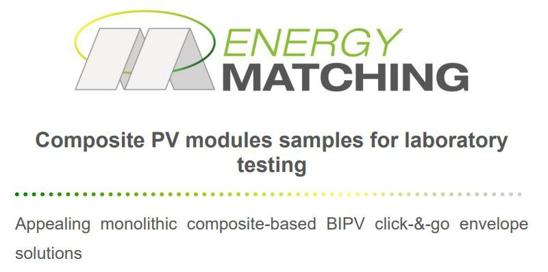 Composite PV modules samples for laboratory testing public download