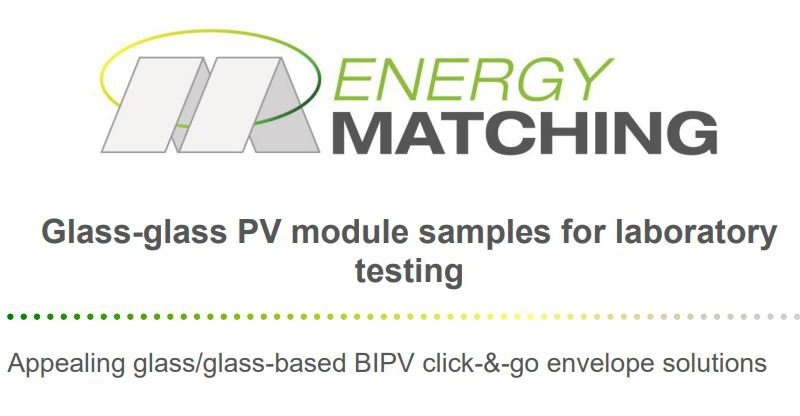 Glass-glass PV module samples for laboratory testing public download