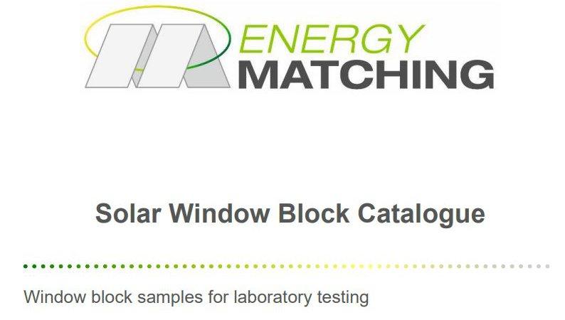 Solar Window Block Catalogue